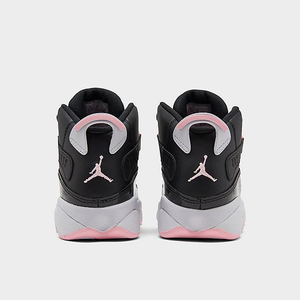 Girls' Little Kids' Air Jordan 6 Rings Basketball Shoes