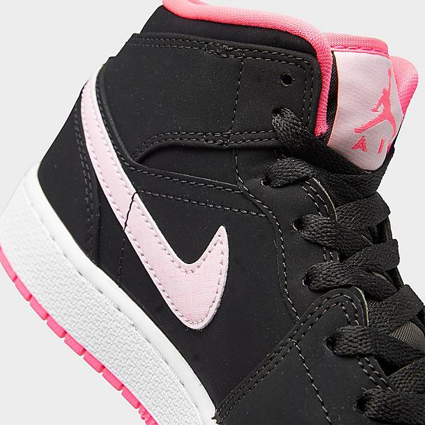 Girls Big Kids Air Jordan Retro 1 Mid Casual Shoes Jd Sports