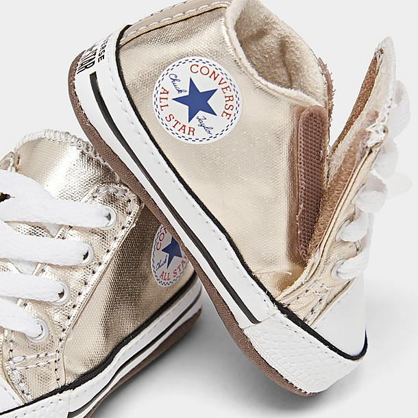 Girls' Toddler Converse Pearlized Party Chuck Taylor All Star Cribster Crib Shoes
