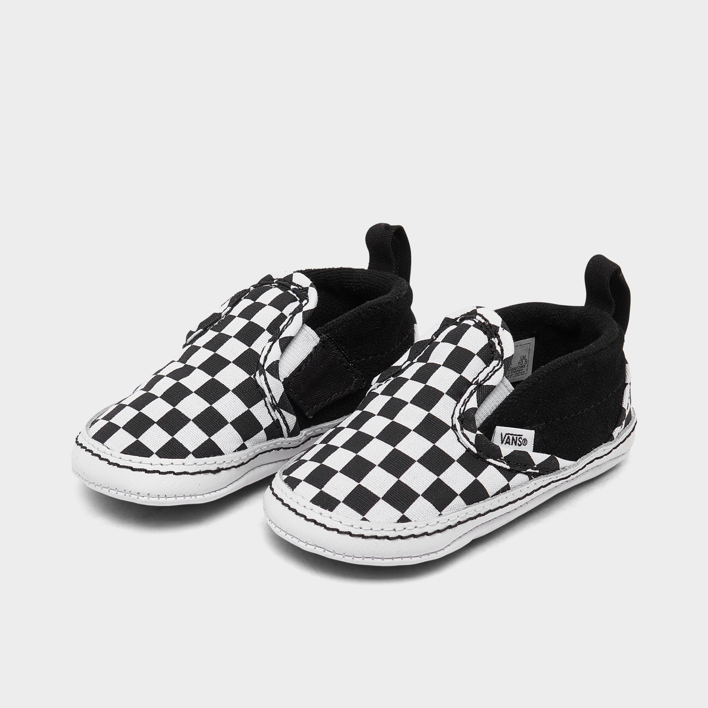 Infant Vans Checker Slip-On V Crib