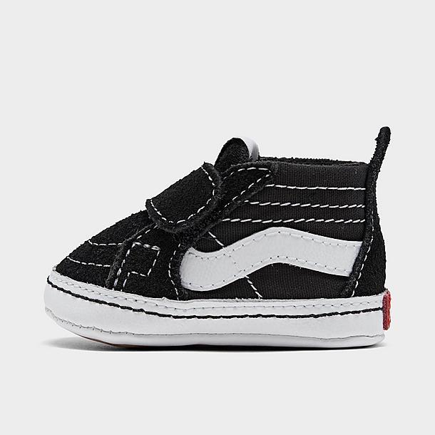 Boys' Infant Vans Old Skool Hook-and-Loop Crib Shoes