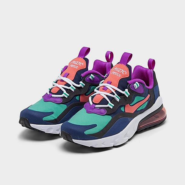Girls Big Kids Nike Air Max 270 React Se Casual Shoes Jd Sports