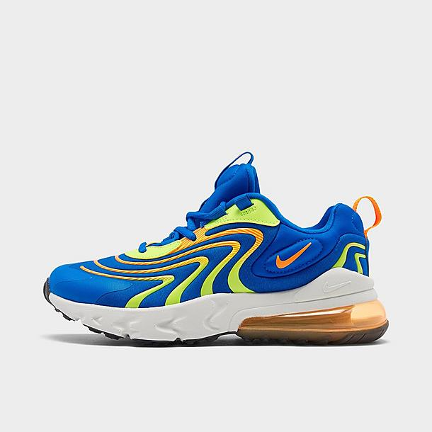 air max 270 react blue and orange