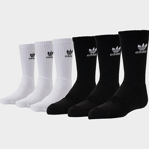 Kids' adidas Originals 6-Pack Crew Socks  JD Sports