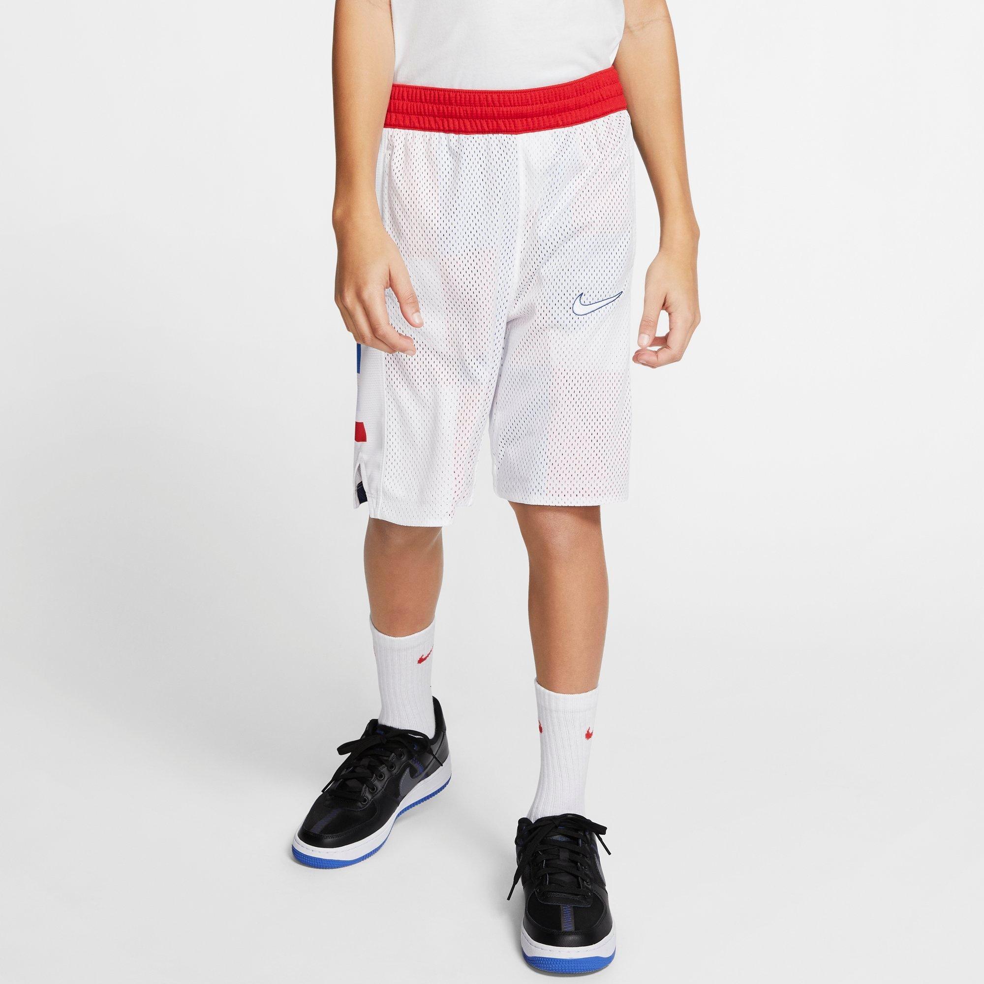Nike Men's Elite Basketball Training Shorts AJ4213 Red//Black 657 size L
