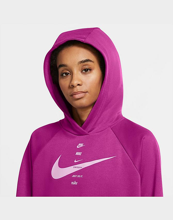 canal Recurso Monarca  Women's Nike Sportswear SWOOSH Hoodie| JD Sports