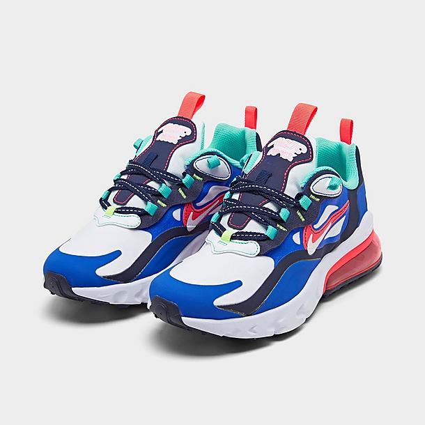 Big Kids Nike Air Max 270 React Se Casual Shoes Jd Sports