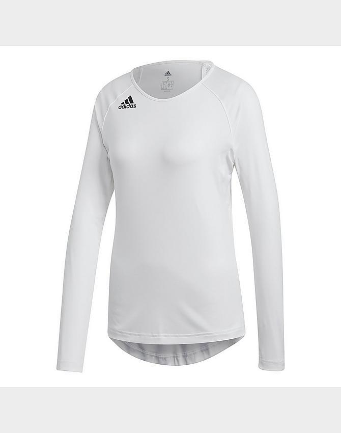 Women's adidas HILO Long-Sleeve Volleyball Jersey  JD Sports