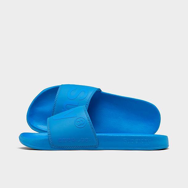 men s superdry city neon pool slide sandals jd sports jd sports