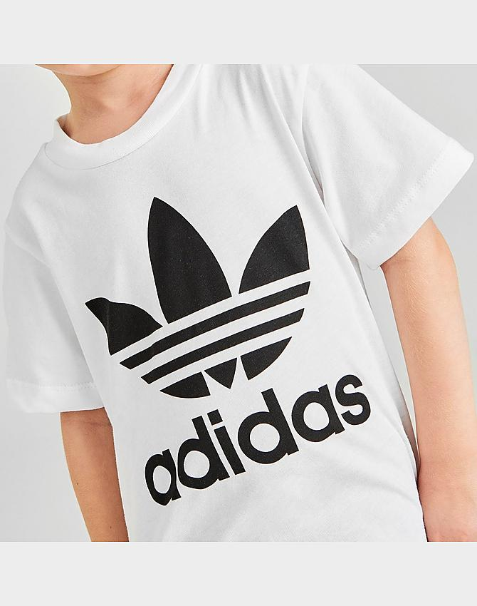 Kids' Infant and Toddler adidas Original Trefoil T-Shirt and ...