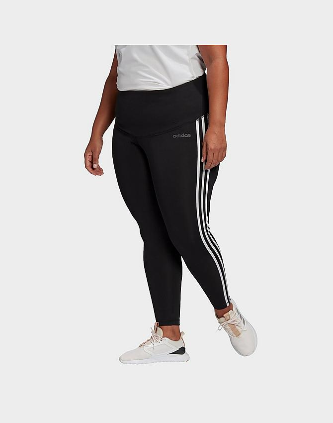 Women S Adidas Essentials Designed 2 Move Cropped Tights Plus Size Jd Sports
