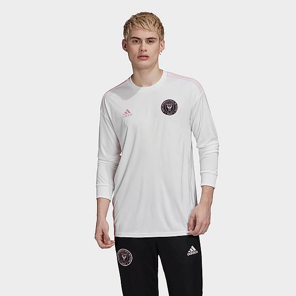Men's adidas Inter Miami CF Home Long-Sleeve Soccer Jersey  JD Sports