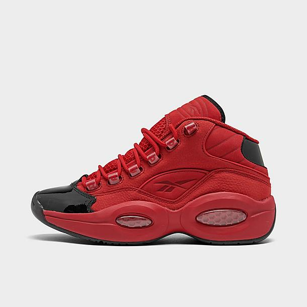 A bordo mostrador palo  Men's Reebok Question Mid Patent Basketball Shoes| JD Sports