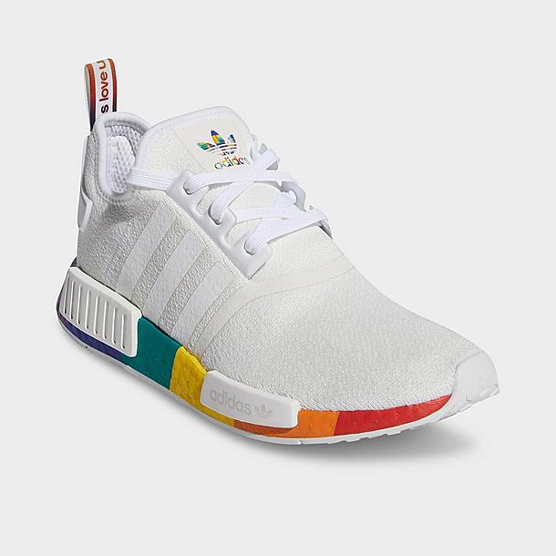 Men S Adidas Nmd R1 Pride Casual Shoes Jd Sports