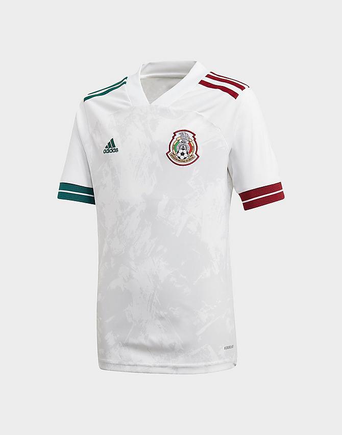 Kids' adidas Mexico Away Soccer Jersey| JD Sports