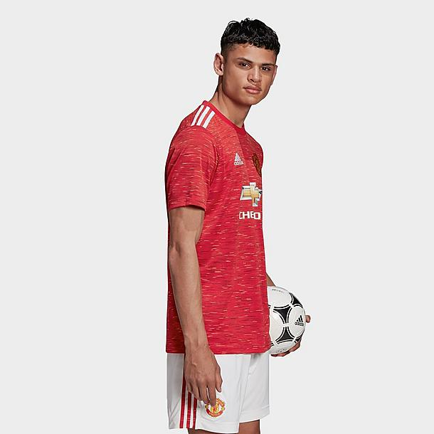 Men's adidas Manchester United Home Soccer Jersey| JD Sports