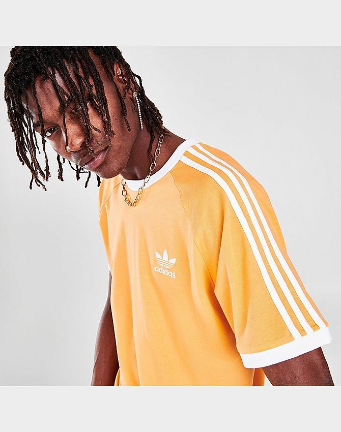 Men's adidas Originals 3-Stripes California T-Shirt| JD Sports
