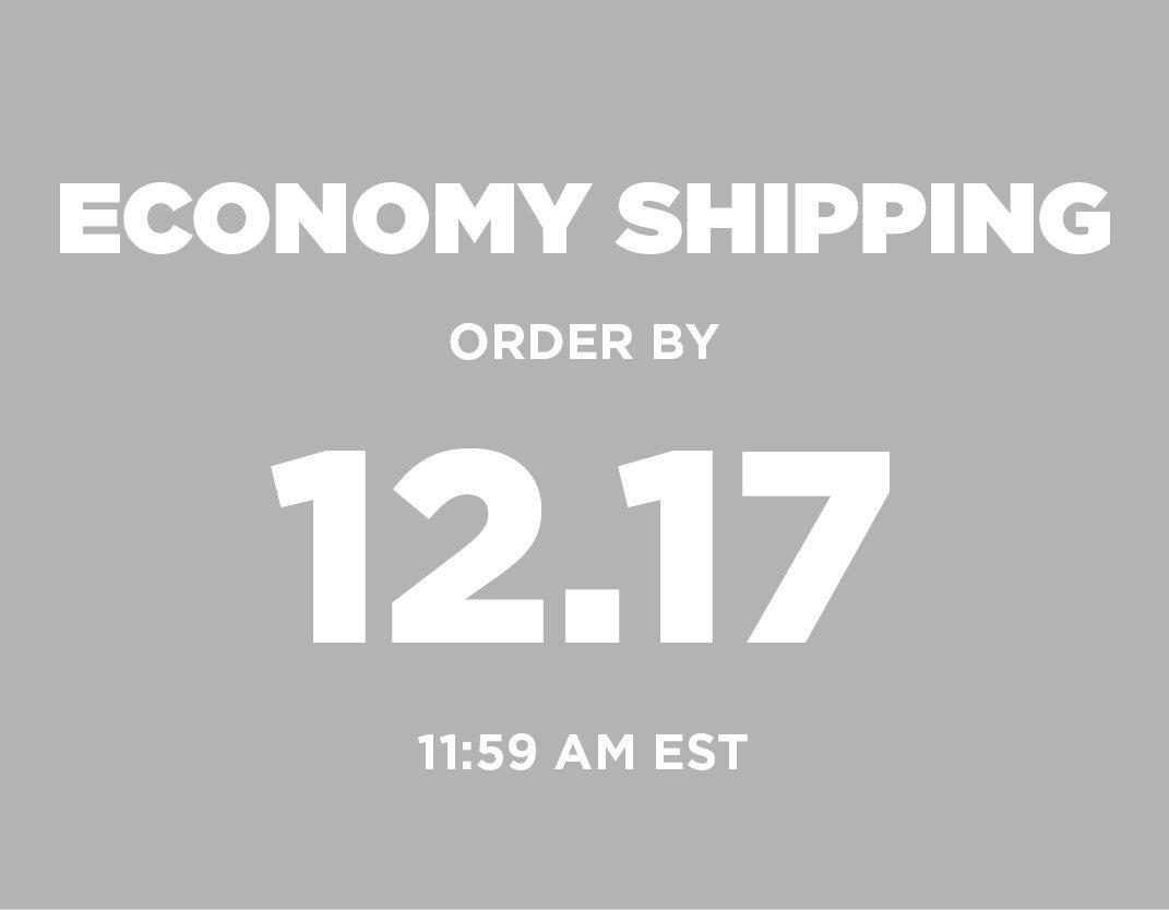 Economy Shipping Order by 12/17