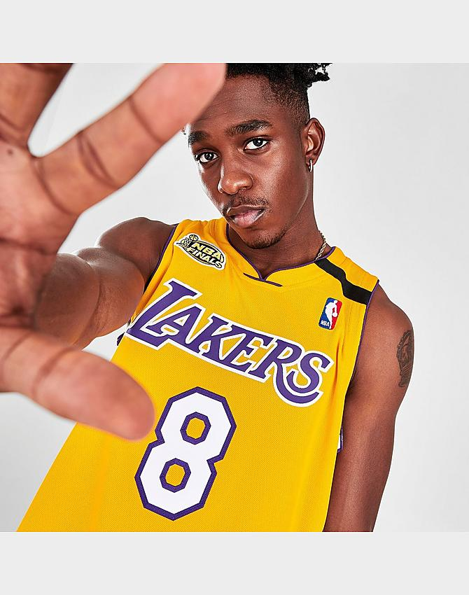 Men's Mitchell & Ness Kobe Bryant Los Angeles Lakers NBA Finals ...