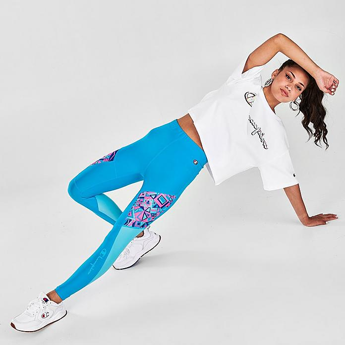 Women S Champion X Mtv Limited Edition Colorblock Leggings Jd Sports