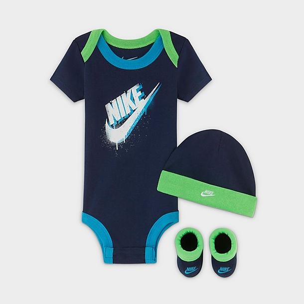 boys infant nike futura hat and booties set jd sports nike