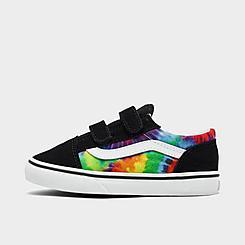 Kids' Toddler Vans Tie-Dye Old Skool V Casual Shoes