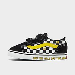 Kids' Toddler Vans x SpongeBob SquarePants Old Skool V Casual Shoes
