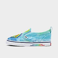 Kids' Toddler Vans x SpongeBob SquarePants Slip-On V Casual Shoes