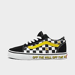 Little Kids' Vans x SpongeBob SquarePants Old Skool Casual Shoes