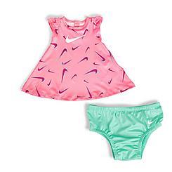Girls' Infant Nike Dri-FIT Swooshfetti Print Dress