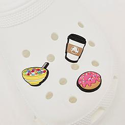 Crocs Jibbitz Breakfast Lovers Charms (3-Pack)