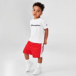 Boys' Toddler Champion Classic Script T-Shirt and Shorts Set