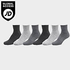 Men's Sonneti Quarter Socks (6-Pack)