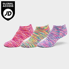 Women's Pink Soda No-Show Socks (6-Pack)