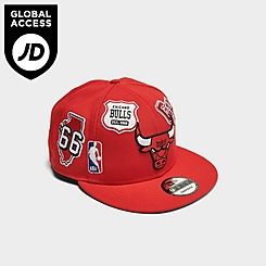New Era Chicago Bulls NBA Patch 9FIFTY Snapback Hat