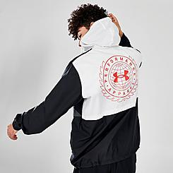 Men's Under Armour Woven Crest Anorak Jacket