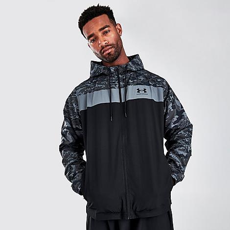 Mens Under Armour Sportstyle Camo Windbreaker Jacket