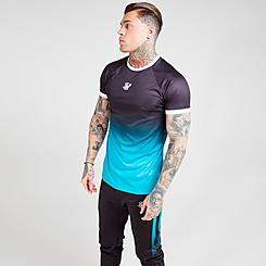 Men's SikSilk Raglan Fade T-Shirt