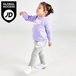 Girls' Infant Nike Club HBR Hoodie and Jogger Pants Set