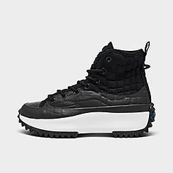Women's Converse Run Star Hike Leather Platform High Top Sneaker Boots