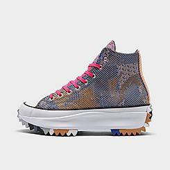 Women's Converse Knit Mashup Run Star Hike Platform High Top Sneaker Boots
