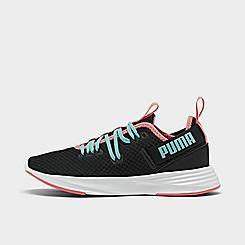 Girls' Big Kids' Puma Throttle Running Shoes