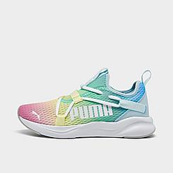 Girls' Big Kids' Puma Rainbow Rift Slip-On Casual Shoes
