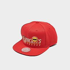 Mitchell & Ness Houston Rockets NBA Vintage 2 Snapback Hat