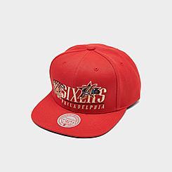 Mitchell & Ness Philadelphia 76ers NBA Vintage 2 Snapback Hat