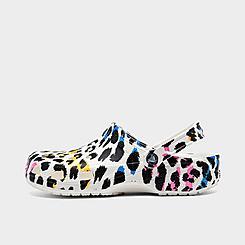 Crocs Classic Animal Print Clog Shoes