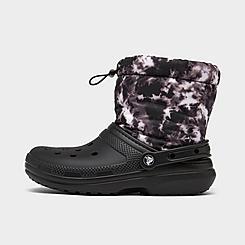 Women's Crocs Classic Lined Neo Puff Boots