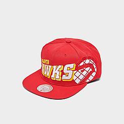 Mitchell & Ness Atlanta Hawks The Grid Snapback Hat