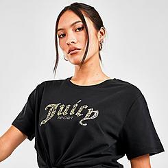 Women's Juicy Sport Leopard T-Shirt