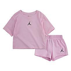 Girls' Toddler Jordan Jumpman Essentials T-Shirt and Shorts Set